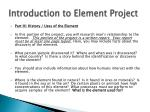 introduction to element project3