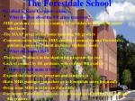 the forestdale school