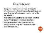 le recrutement3