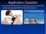 application question