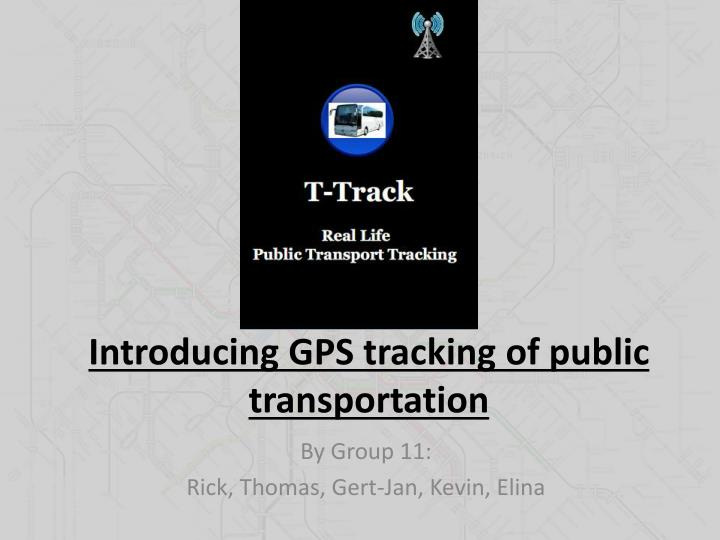 introducing gps tracking of public transportation n.