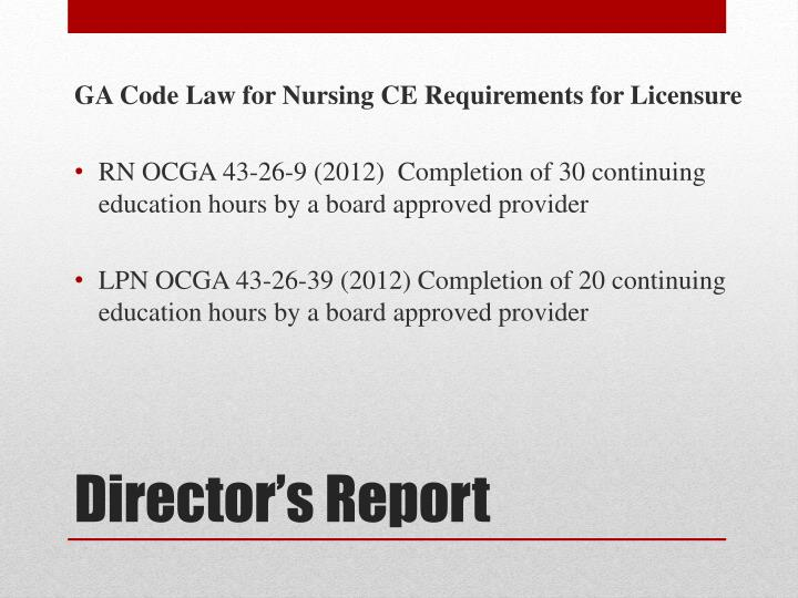 GA Code Law