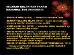 sejarah kelahiran faham nasionalisme indonesia