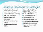 tasuta ja tasulised viiruset rjed