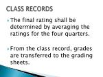 class records1
