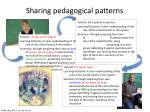 sharing pedagogical patterns