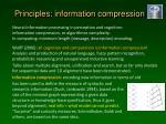 principles information compression