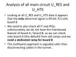analysis of all main circuit u res and u hts
