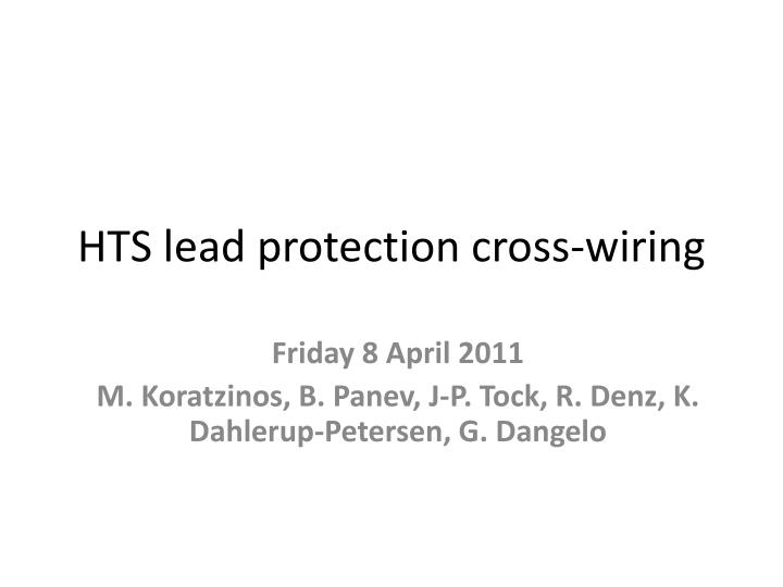 hts lead protection cross wiring n.