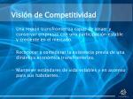 visi n de competitividad