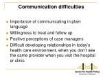 communication difficulties1