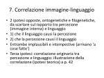 7 correlazione immagine linguaggio