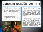 guerra de sucesi n 1701 1713