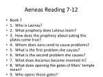 aeneas reading 7 12