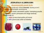 jedinjenja aluminijuma