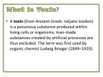 what is toxin