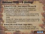 kuesioner vimk l listing11