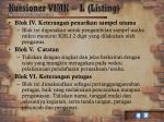 kuesioner vimk l listing12