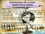 jurisprudencia de la coidh y perspectiva de g nero