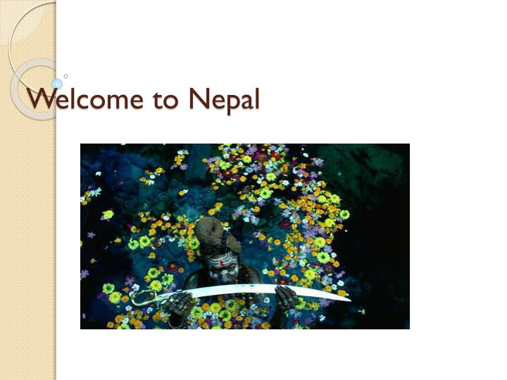 welcome to nepal n.