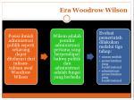 era woodrow wilson