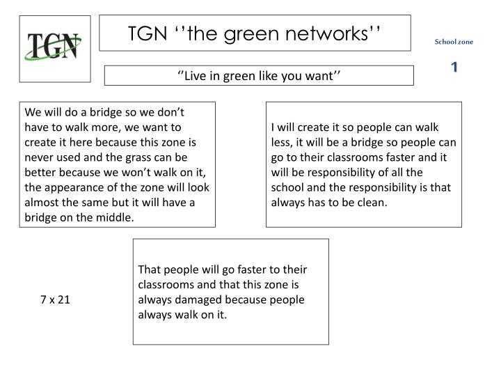 tgn the green networks n.