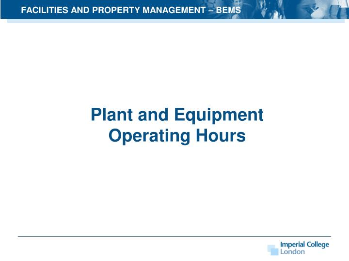 facilities and property management bems n.