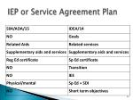 iep or service agreement plan1