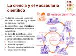 la ciencia y el vocabulario cient fico4