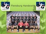 flensburg handewitt