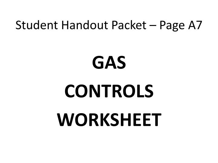 student handout packet page a7 n.