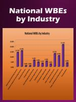 national wbes by industry