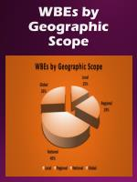 wbes by geographic scope