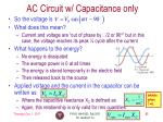 ac circuit w capacitance only2