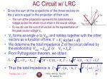 ac circuit w lrc2