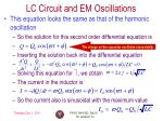lc circuit and em oscillations1
