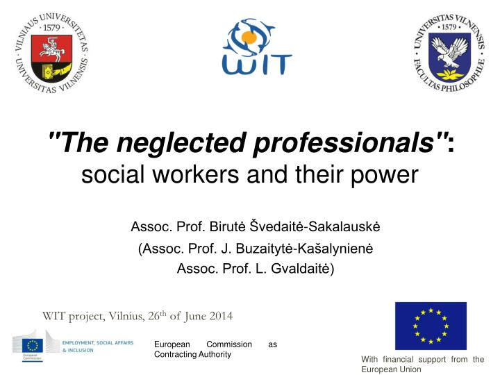 the neglected professionals social workers and their power n.