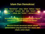 islam dan demokrasi1