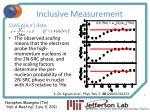inclusive measurement