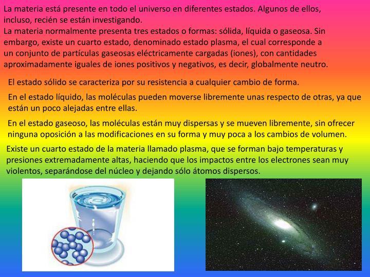 PPT - TRANSFORMACIONES DE LA MATERIA PowerPoint Presentation - ID ...