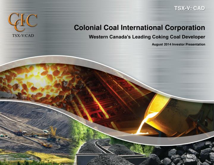 colonial coal international corporation n.