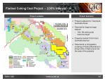flatbed coking coal project 100 interest