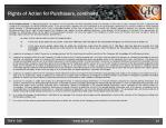 rights of action for purchasers continued4