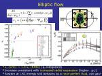 elliptic flow