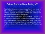 crime rate in new paltz ny