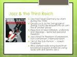 jazz the third reich