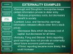 externality examples