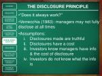 the disclosure principle1