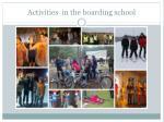 activities in the boarding school1
