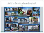 feta dance and vocal festival